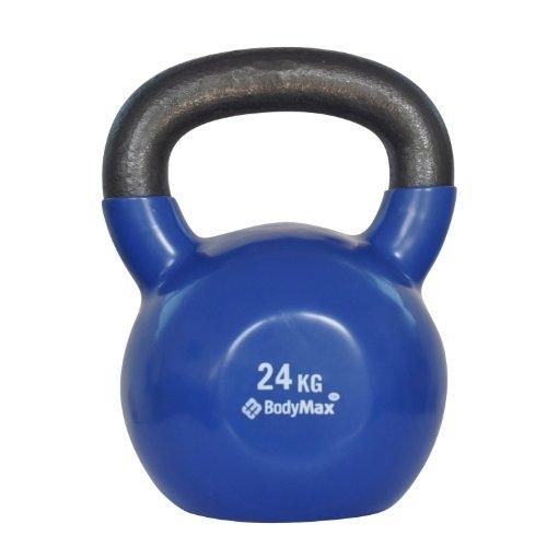 Bodymax 24kg Vinyl Coated Kettlebell (Blue)