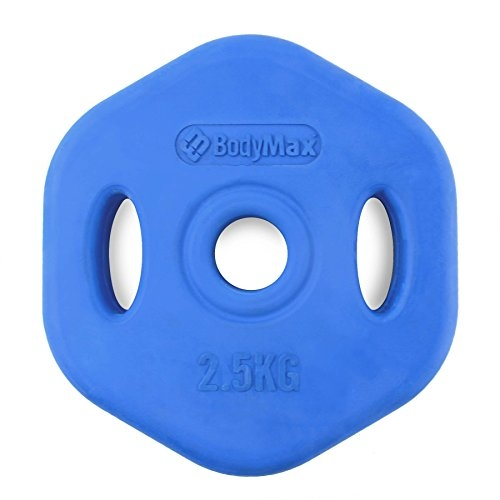 Bodymax 2.5Kg Blue Rubber Studio Disc (single)