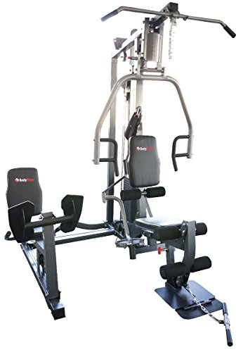 Bodymax Bi-Angular Trainer Gym with Leg Press – Silver
