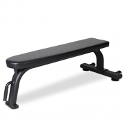 Bodymax Black BE225 Commercial Flat Bench