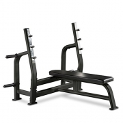 Bodymax Black BE275 Commercial Olympic Bench Press