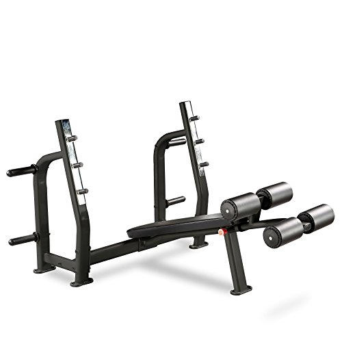 Bodymax Black BE285 Commercial Olympic Decline Bench