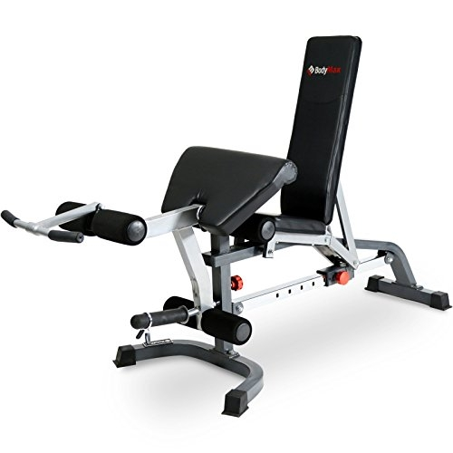 BodyMax CF330 Premium Weight Bench – Black
