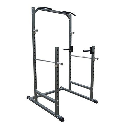 Bodymax CF376R Half Cage Squat Rack
