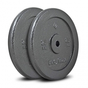 Bodymax Standard Hammertone Weight Disc Plates – 2 x 25kg