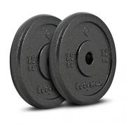 Bodymax Standard Hammertone Weight Disc Plates – 2 x 7.5kg