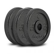 Bodymax Standard Hammertone Weight Disc Plates – 4 x 2.5kg