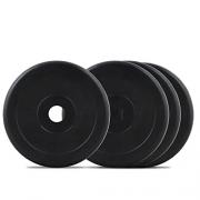 Bodymax Standard Rubber Weight Disc Plates – 4 x 2.5kg