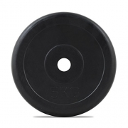 Bodymax Standard Rubber Weight Plate – 5kg