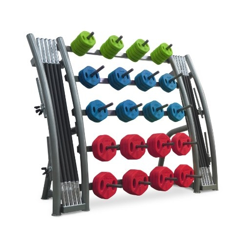 Bodymax Studio Barbell Set Rack – 20 Set Capacity