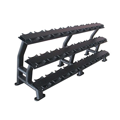 Bodymax Zenith Dumbbell Rack – 3 Tier 15 Pairs