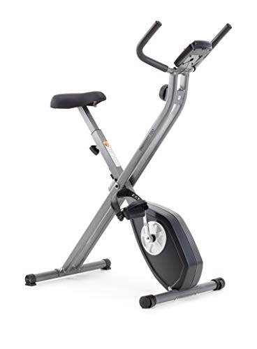 CADENCE Unisex SMARTFIT 100 Foldable Bike, Black and Silver