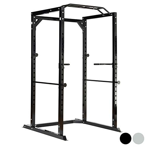 Mirafit Heavy Duty Olympic Power Cage with Multi Grip Pull Up Bar
