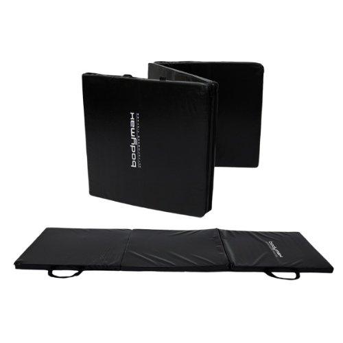 NEW Bodymax Tri-Fold Exercise Mat 180x60x3cm – Black