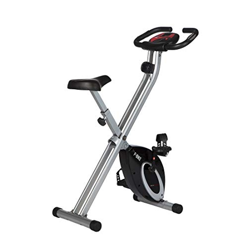 Ultrasport F-Bike, Bicycle Trainer, Home Trainer, Collapsible Exercise Bike with Training Computer